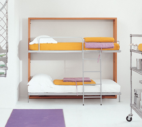 folding wall bunk bed plans