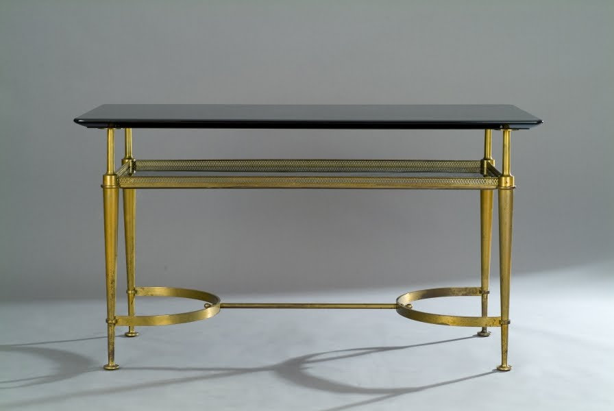 Merveilleux A Bronze Table By André Arbus, Circa 1949