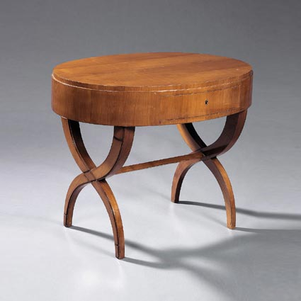 An Art Deco Side Table, Circa 1945, By André Arbus Draws From The French  Directoire Period.