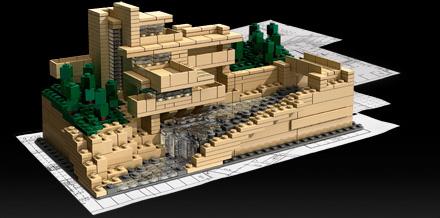 Lego fallingwater mr barr - Lego falling waters ...