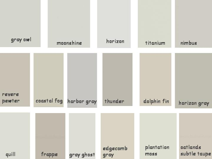 all of these greys are pretty but because this palette