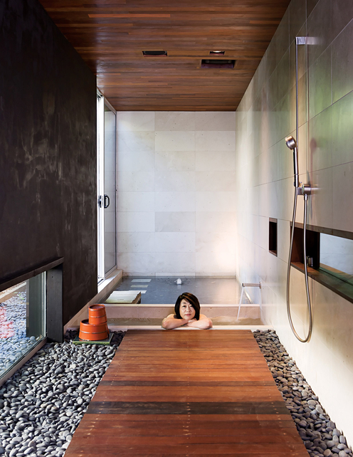 Wabi house hidden fortress mr barr for Bathroom design japanese style