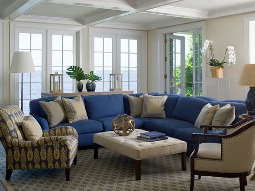 Coastal Sophisticated Sectional