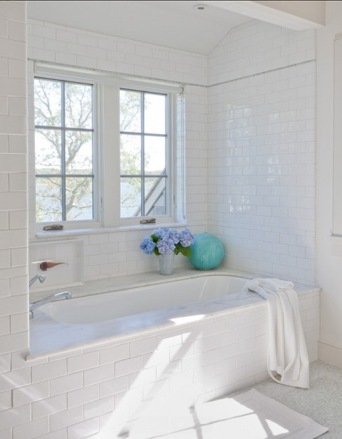 Bathroom.-Bathroom-Ideas.-White-Bathroom-with-subway-tiles-and-marble-flooring.-Bathroom-
