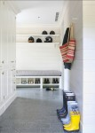 Mudroom.-Mudroom-Design-Ideas.-Mudroom-with-custom-cabinets-durable-floors-and-horizontal-tongue-and-groove-walls.-Mudroom-